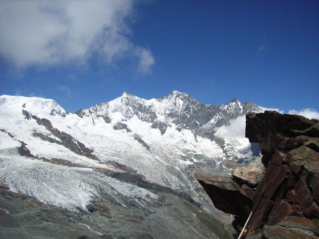 Klettersteig Mittaghorn (3144 m), Saas Fee