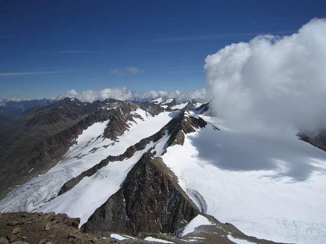 Similaun (3606m) & Marzellkamm