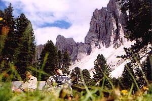 Von St.Christina zur Gampenalm (2062m) – 25.06.2000