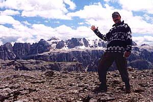 Über die Forcella de la Roa zur Puez-Hütte (2475m) – 26.06.2000